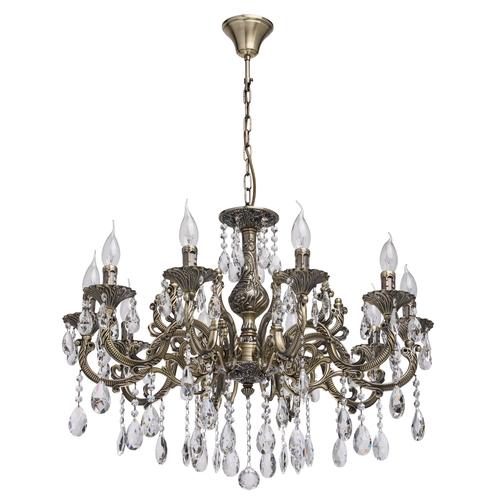 Lampa wisząca Toscana Classic 10 Mosiądz - 685010110