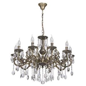 Lampa wisząca Toscana Classic 10 Mosiądz - 685010110 small 0