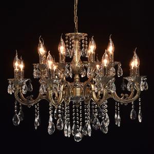 Lampa wisząca Toscana Classic 16 Mosiądz - 685010216 small 2