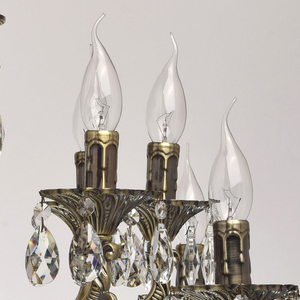 Lampa wisząca Toscana Classic 16 Mosiądz - 685010216 small 3