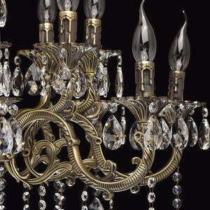 Lampa wisząca Toscana Classic 16 Mosiądz - 685010216 small 6