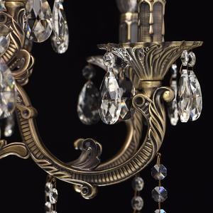 Lampa wisząca Toscana Classic 16 Mosiądz - 685010216 small 9