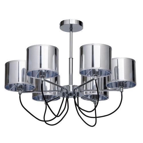 Lampa wisząca Lazio Megapolis 6 Chrom - 103010806
