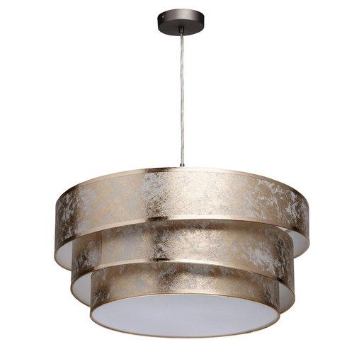 Lampa wisząca Nora Elegance 3 Szary - 454011003