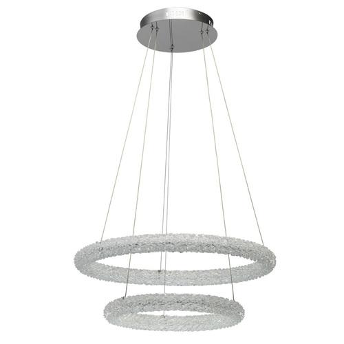 Lampa wisząca Goslar Crystal 48 Chrom - 498014202