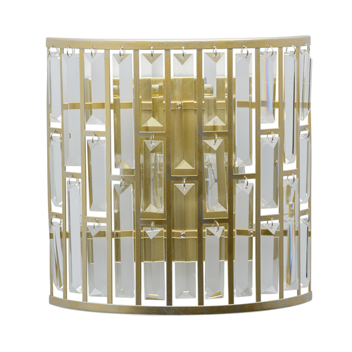 Kinkiet Monarch Crystal 2 Złoty - 121020102