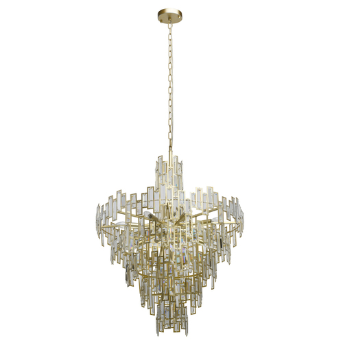 Lampa wisząca Monarch Crystal 18 Złoty - 121010718