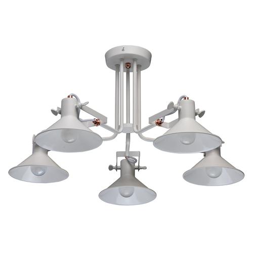 Lampa sufitowa Town Loft 5 Biały - 691010705