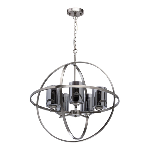 Lampa wisząca Alghero Loft 5 Srebrny - 285010605