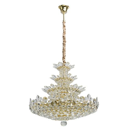 Lampa wisząca Laura Crystal 26 Złoty - 345011226