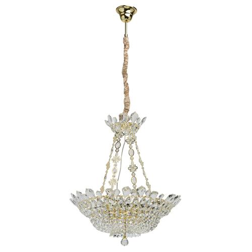 Lampa wisząca Patricia Crystal 12 Złoty - 447010612