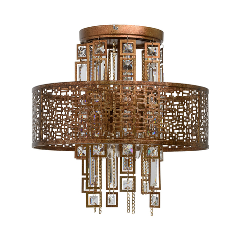Lampa wisząca Morocco Loft 5 Miedziany - 185010205