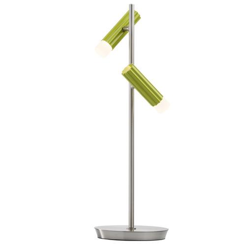 Lampa Stołowa Stuttgart Techno 2 Srebrny - 705030402