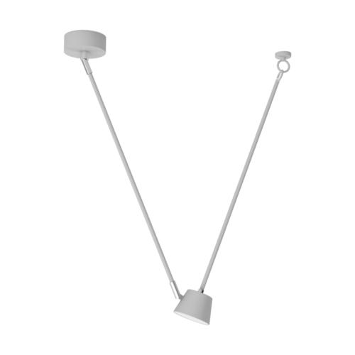 Lampa wisząca Hartwig Hi-Tech 1 Biały - 717010101