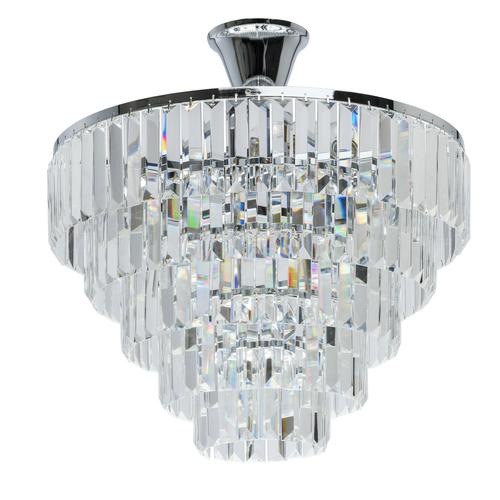 Lampa wisząca Adelard Crystal 5 Chrom - 642010705
