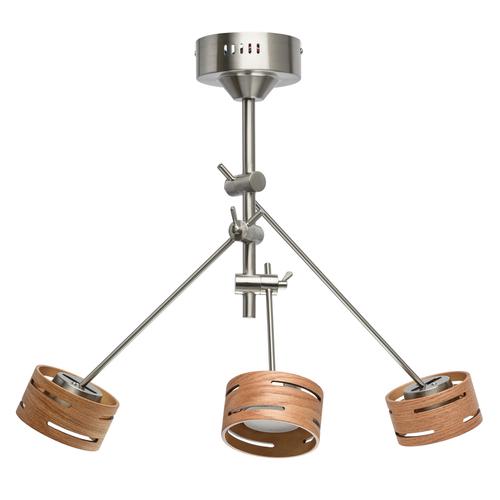 Lampa wisząca Chill-out Hi-Tech 3 Srebrny - 725010103