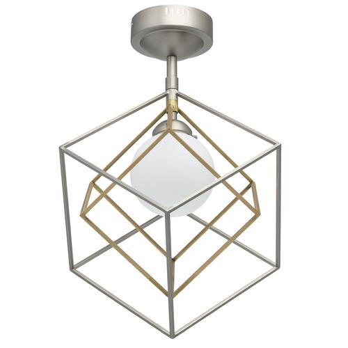 Lampa wisząca Prisma Hi-Tech 7 Srebrny - 726010301