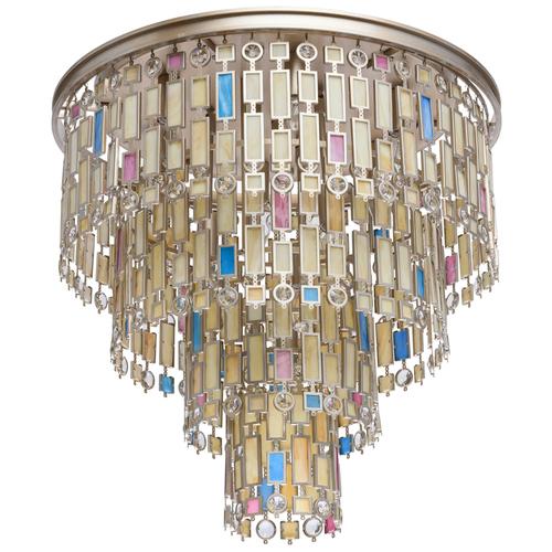 Lampa wisząca Morocco Country 10 Beżowy - 185010710