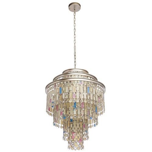 Lampa wisząca Morocco Country 9 Beżowy - 185010809