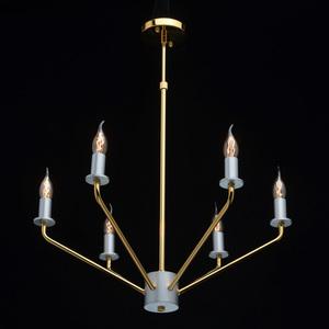 Lampa wisząca Hamburg Megapolis 6 Złoty - 699010906 small 1