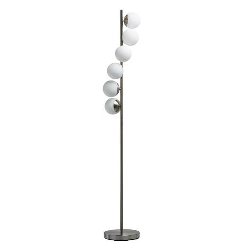Lampa Podłogowa Morpheus Hi-Tech 27 Srebrny - 710040706
