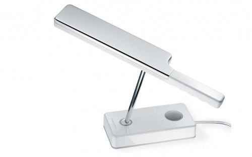 lampa biurkowa Tobias Grau Leed Biała DH00-0