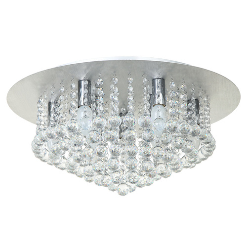Lampa wisząca Venezia Crystal 9 Srebrny - 276014409