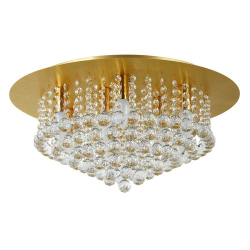 Lampa wisząca Venezia Crystal 9 Złoty - 276014509