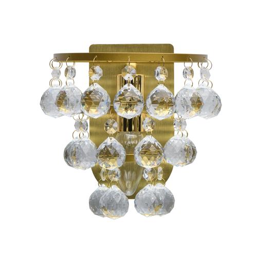 Kinkiet Venezia Crystal 1 Srebrny - 276024901