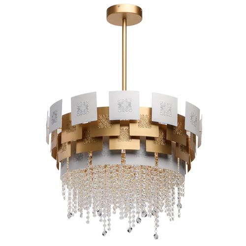 Lampa wisząca Carmen Crystal 6 Złoty - 394011006