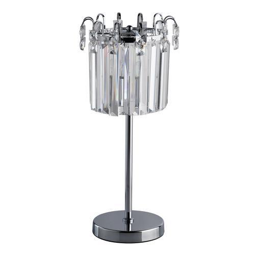 Lampa Stołowa Adelard Crystal 1 Chrom - 642033101