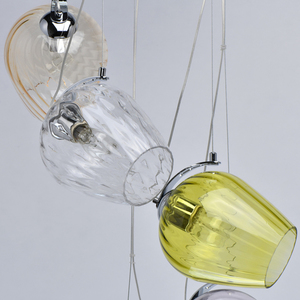 Lampa wisząca Bremen Megapolis 5 Chrom - 606010905 small 11