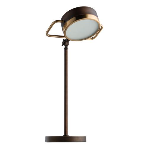 Lampa Stołowa Hamburg Loft 1 Mosiądz - 605031501