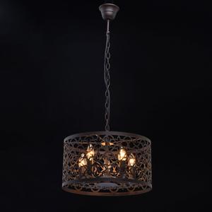 Lampa wisząca Castle Country 5 Brązowy - 249018005 small 1