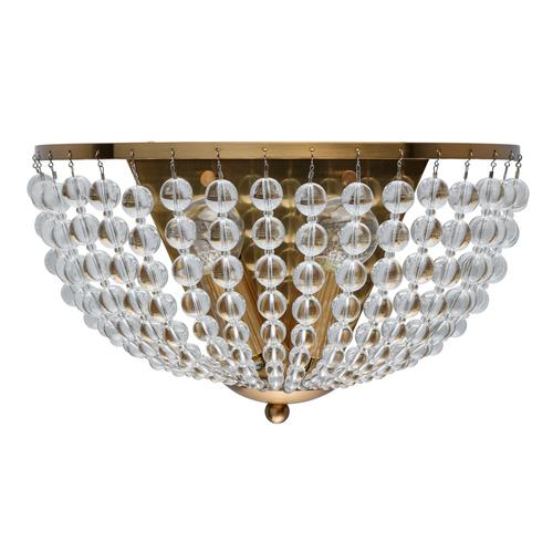 Kinkiet Venezia Crystal 2 Mosiądz - 111023002
