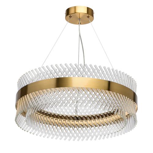 Lampa wisząca Adelard Crystal 52 Mosiądz - 642014001