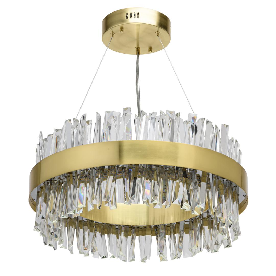 Lampa wisząca Adelard Crystal 68 Złoty - 642014901