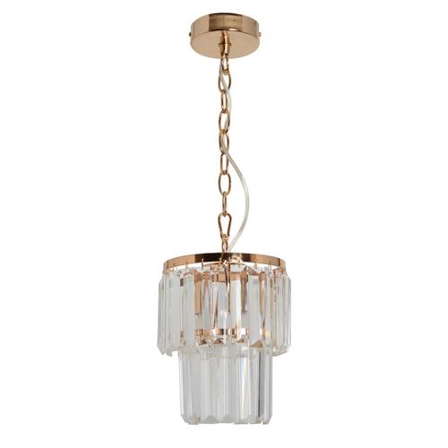 Lampa wisząca Adelard Crystal 1 Złoty - 642014301