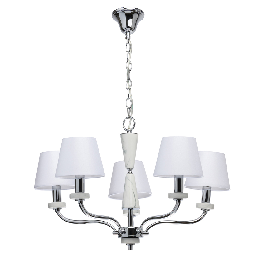 Lampa wisząca Vitalina Elegance 5 Chrom - 448014205