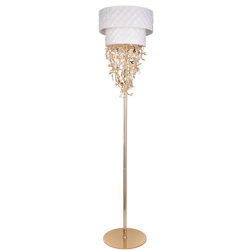 Lampa Podłogowa Carmen Megapolis 8 Biały - 394041608