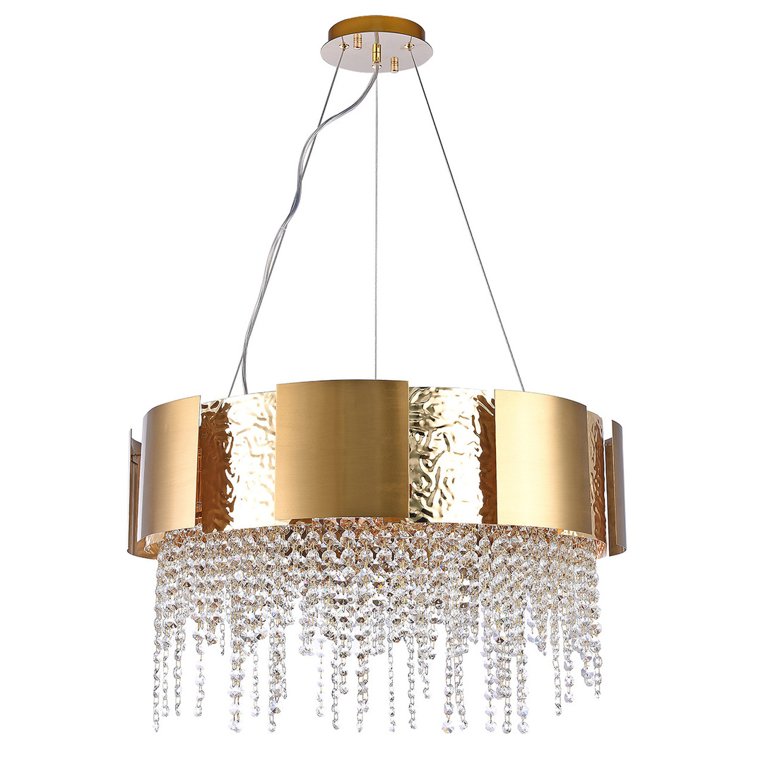 Lampa wisząca Carmen Crystal 12 Złoty - 394012112