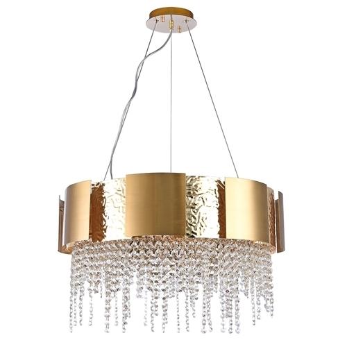 Lampa wisząca Carmen Crystal 15 Złoty - 394012215
