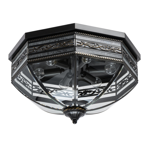 Lampa wisząca Corso Street 6 Mosiądz - 801010806