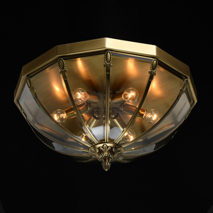 Lampa wisząca Corso Street 6 Mosiądz - 802011306 small 1