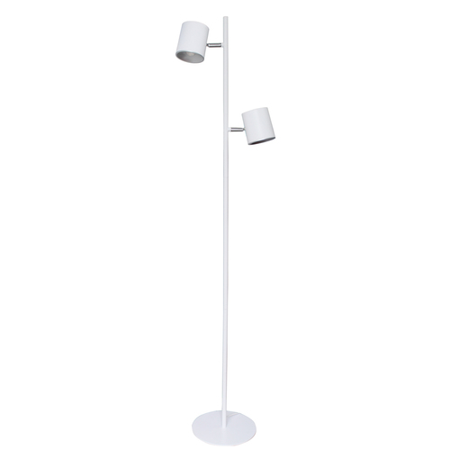 Lampa Podłogowa Edgar Hi-Tech 2 Biały - 408042302