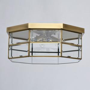 Lampa wisząca Corso Street 6 Mosiądz - 802011506 small 2