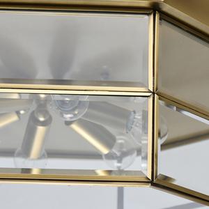 Lampa wisząca Corso Street 6 Mosiądz - 802011506 small 3