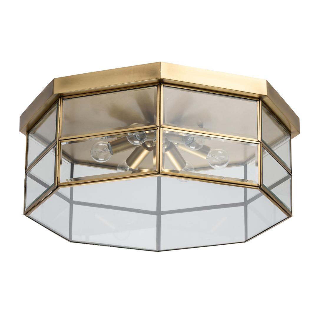 Lampa wisząca Corso Street 6 Mosiądz - 802011506