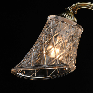 Lampa wisząca  Classic 5 Mosiądz - 450019105 small 6