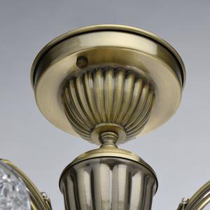 Lampa wisząca  Classic 5 Mosiądz - 450019105 small 3